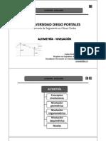 Presentación N° 7 - Altimetría (Nivelación)