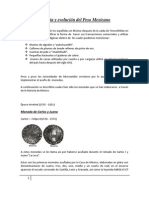 Historia y evolución del Peso Mexicano