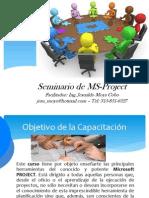 Seminario de MSProject 2010