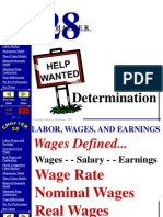 Ppt on Wage Determation