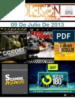 Boletín Juventud Sión 09 de Julio de 2013