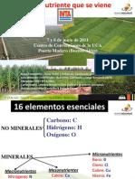 Zinc, El Nutriente Que Se Viene - Fuente Ing. Fontaneto, InTA