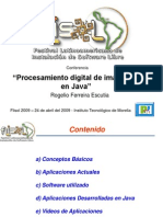 Con 0020 Procesamiento Digital de Imagenes en Java Flisol