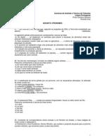 Analista Tecnico Lingua Portuguresa 23 05