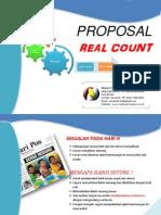 Proposal Real Count Pilkada