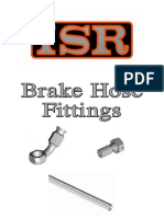 ISR Brake Hose Fittings