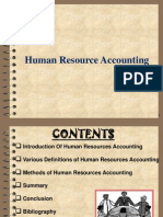 HR Accounting and its methods