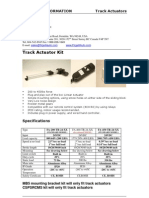 Track Actuator Spec Sheet June 2009