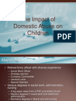 Impact of DV on Kids for APSU SW Dept