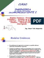 INGENIERIA SISMORESISTENTE I - TEMA 2 - Vibración Libre