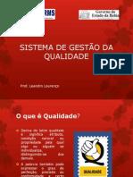 AULA _SISTEMA DE GESTÃO DA QUALIDADE