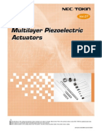 Actuator Types Materials