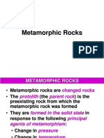 Modul 8 - Metamorphic Rocks