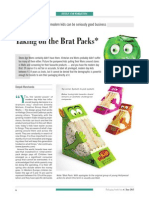 Taking On The Brat Packs ; Packaging South Asia