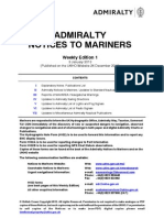 Notices to Mariners - Week01_2013