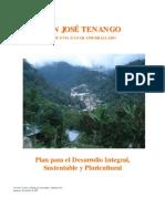 Ayuntamiento de San Jose Tenango - Plan Para El Desarrollo Municipal 2005