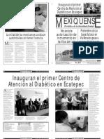 Versión impresa del periódico El mexiquense  10 julio 2013