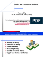 Economics- Money and Inflation