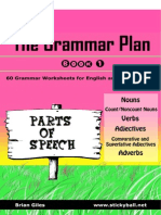 the grammar plan book 1 - parts of speech