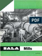 Grinding Mills SALA Leaflet 603 E, Sweden 1973
