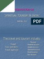 Spiritual Tourrism