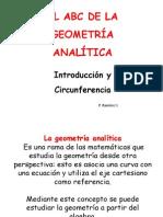 2a. Parte Introducion Geometria Analitica Circunferencia