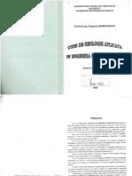 E. Marchidanu - Curs de Geologie Aplicata in Ingineria Constructiilor