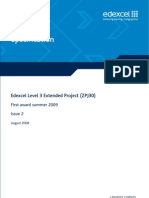 project specification level 3