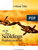 129 Scoldings the Prophets Received