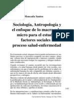 Sociología, Antropología y el enfoque de lo macro y lo micro