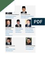 Susunan Kabinet Indonesia 2