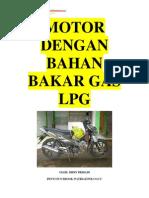 Motor Bah an Bakar Gas Lpg
