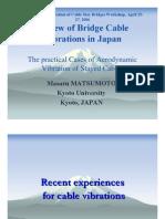 01-ThePracticalCasesofAerodynamicVibrationofStayedCables