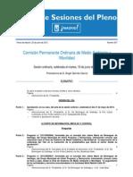 18-06-2013 Acta Comision Upyd y Psoe Preguntan Situacion de Ordenanza