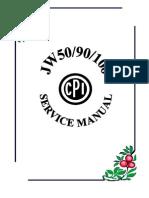 Cpi Jw 50-90-100 Servicemanual