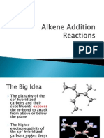Alkene Addition Reactions