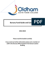 OSFC Bursary Booklet