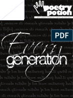 Poetry Potion 2013.02 EveryGeneration