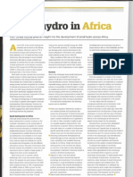 Small Hydro in Africa