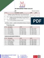 GDSPL Tariff - 10 Jun -13