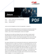 Jesus Gottes Sohn & Menschensohn