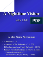 A Nighttime Visitor - John 3