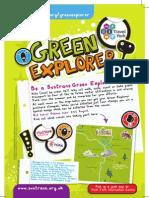 Green Explorer York Poster