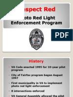 City of Fairfax red-light presentation