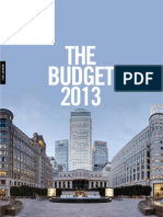 A Guide to the Budget 2013