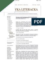 Krytyka Literacka 2010