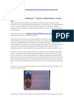 Idéias para EXCELÊNCIA DAS MOÇAS 2012