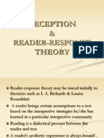Reception & Reader-response Theory