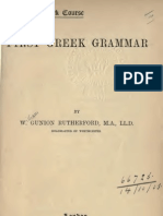 [William Gunion Rutherford] First Greek Grammar (M(Bookos.org)