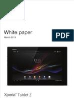 Sony Xperia Z Whitepaper